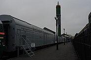 Боевой железнодорожный ракетный комплекс БЖРК 15П961 Молодец (1)