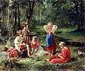 В. А. Голынский. Дети в лесу.jpg