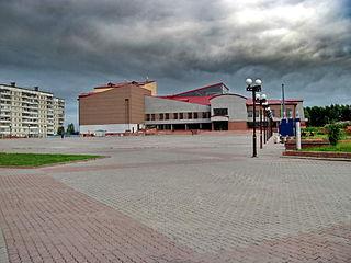 Zarinsk Town in Altai Krai, Russia