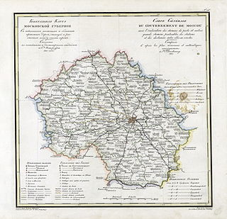 Moscow Governorate governorate of the Russian Empire