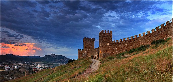 Судацька фортеця, місто Судак, АР Крим, © Антон Петрусь, CC-BY-SA 4.0