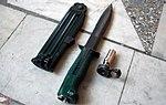 Нож разведчика стреляющий НРС-2 - 27-й отдельной гвардейской Краснознаменной Севастопольской мотострелковой бригады 06.jpg