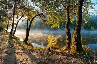 """Donetsk Oblast - National park """"Sviati Hory."""""""