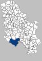 Областта Рашка на картата на Сърбия.png