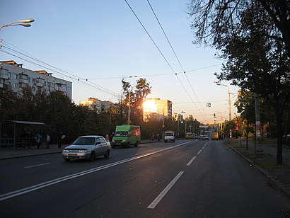 How to get to проспект Голосіївський 3 with public transit - About the place