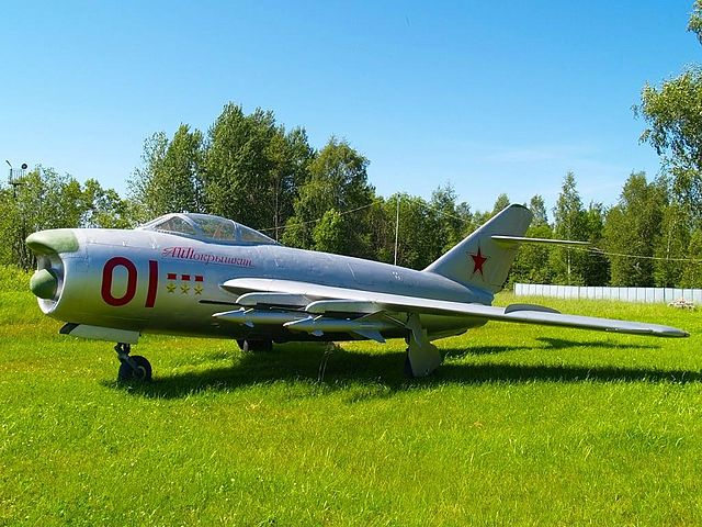 Миг-17— самолёт который осваивал А. Покрышкин будучи командиром 88-го ИАК во Ржеве