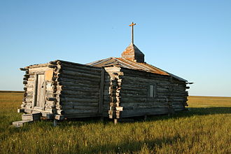 Allaikhovsky District - Church in Russkoye Ustye, Allaikhovsky District