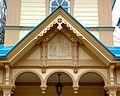 Успенская церковь (1911) Гефсиманского скита Валаамского монастыря. Фрагмент оформления крыльца, икона Б.М. Успение.jpg
