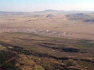 Ovyursky District - Khandagaity in Ovyursky District