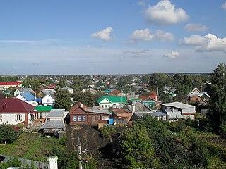 Chistopol Town in Tatarstan, Russia