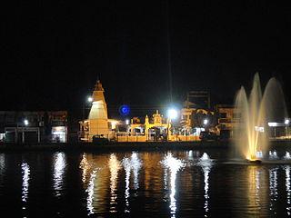 Dharmanagar Town in Tripura, India