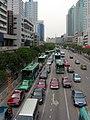 安徽省合肥三孝口天桥西侧的-车流 - panoramio.jpg