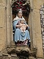 -2019-07-15 Mary and baby statue, Porch, Parish church of Saint Nicholas, North Walsham.JPG