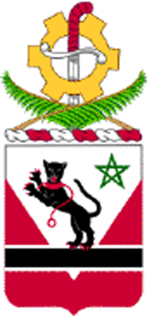 16th Engineer Battalion (United States) - Coat of Arms