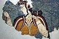 02 2020 Grecia photo Paolo Villa FO190055 bis (Museo archeologico di Atene ) Affresco miceneo con donna NAMA 11670 con braccialetti XIIIsec a.C., con gimp.jpg