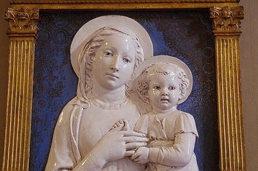 03 2015 Madonna di Santa Maria Nuova-Luca della Robbia-Museo nazionale del Bargello (Firenze) Photo Paolo Villa FOTO9230