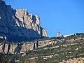 045 Montserrat i el monestir de Sant Benet, des de Monistrol.JPG
