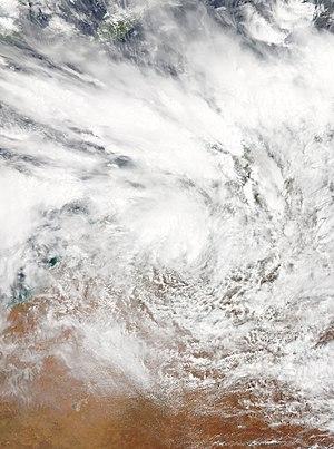 2016–17 Australian region cyclone season - Image: 06U 2016 12 22 0145Z