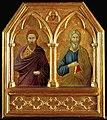 1а Ugolino di Nerio. Sts Bartholomew and Andrew 1324-25.London NG.jpg