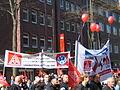 1. Mai 2013 in Hannover. Gute Arbeit. Sichere Rente. Soziales Europa. Umzug vom Freizeitheim Linden zum Klagesmarkt. Menschen und Aktivitäten (054).jpg