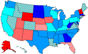 United States House of Representatives elections, 1988 - Image: 101 us house membership