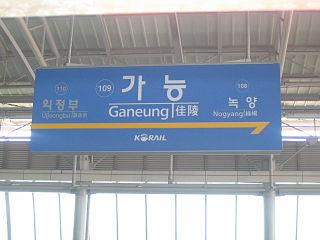 Ganeung station