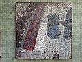 1210 Autokaderstraße 3-7 Tomaschekstraße 44 Stg 13 - Mosaik-Hauszeichen Farbige Komposition von Anton Karl Wolf 1968 IMG 0937.jpg