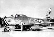 126th Fighter-Interceptor Squadron - North American F-86A-5-NA Sabre 48-129