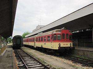 Republika Srpska Railways - Image: 13.05.11 Tuzla ŽRS 813.039 (5805473633)