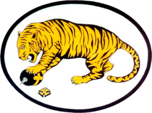 New Jersey Air National Guard - Princeton Tiger Squadron Emblem of the 141st Aero Squadron (Pursuit)