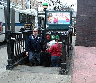 149th Street–Grand Concourse (New York City Subway) - Image: 149 IRT gc sta jeh