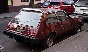 Vehículos Automotores Mexicanos - The VAM Gremlin was based on the 1979-83 AMC Spirit sedan but retained the older Gremlin name.