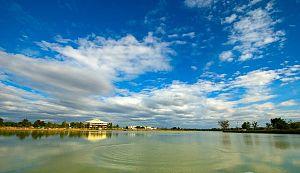 Ubon Ratchathani University - Lake on UBU campus
