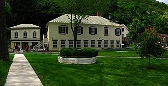 Berkeley Springs, West Virginia - View of part of Berkeley Springs State Park
