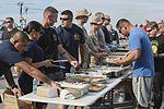15th MEU Marines, Sailors enjoy an afternoon at steel beach 150604-M-TJ275-006.jpg