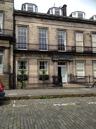 Ronnie Selby Wright - 17 Regent Terrace, Edinburgh