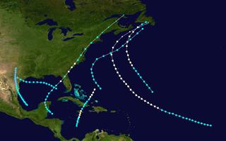 1874 Atlantic hurricane season hurricane season in the Atlantic Ocean