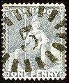 1875ca 1d-Barbados grey blue 5 Mi26 Yv33 SG74.jpg