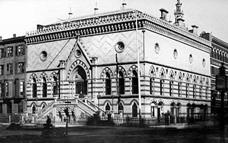 National Academy of Design - Image: 18970403.NYC.Academy of Design (1865; razed)