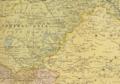 1904 Kashgar detail of map Far East, illustrating Russo-Japanese War by Bartholomew BPL 12182.png