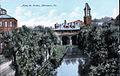 1905 - Lehigh Valley Passenger Station looking South over Jordan Creek.jpg
