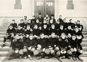 1909 Purdue Boilermakers football team - Image: 1909 Purdue football team