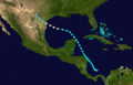 1913 Atlantic hurricane 1 track.png