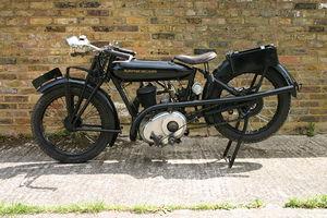 Beardmore Precision Motorcycles - Image: 1925 Beardmore Precision