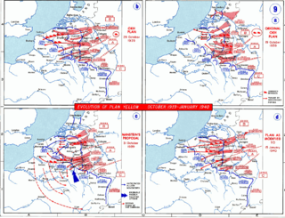 Manstein Plan War plan of the German Army during the Battle of France in 1940