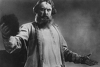 Boris Livanov Soviet actor and theatre director