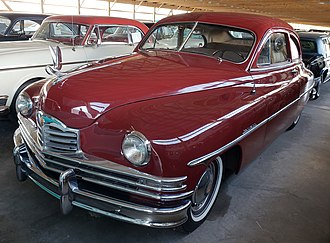 1950 Packard Eight Club Sedan 1950 Packard Eight Club Sedan in Packard Maroon.jpg