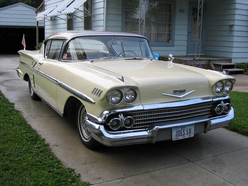 File:1958 Chevrolet Impala.jpg