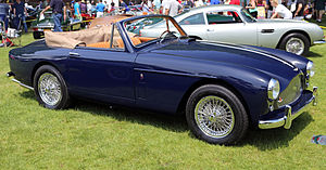 Aston Martin DB Mark III - 1959 DB 2/4 Mark III Drophead Coupé with the DBD engine