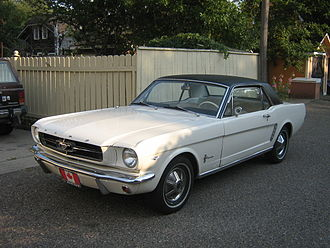 Pony car - 1965 Ford Mustang